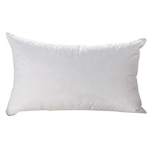 Almohada Ergonómica para Dormir en Diferentes Posturas (Lado, Espalda o Estómago) -Blanco_45 * 75cm