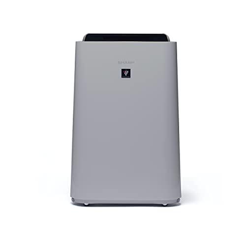 Sharp UA-HD40E-L Purificatore Umidificatore aria, 26 mq, tecnologia Plasmacluster-Ion, tre livelli di filtro (prefiltro, antiodore, HEPA), molto silenzioso (23 dB)