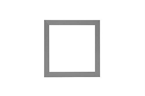 3D Deep Box Frame Range Bilder/Foto/Posterrahmen – mit Einer MDF-Rückwand – fertig zum Aufhängen oder Aufstellen – Rahmen in mattem Hellgrau – 25,4 x 20,3 cm