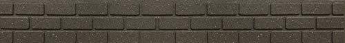 ECO GARDEN Ultra Curve Bricks Umrandung für den Garten, Earth