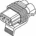 Automotive Connectors 2P FM BLK CON Sales Sale Special Price SERIES 100 ASSY AMPS 30 280