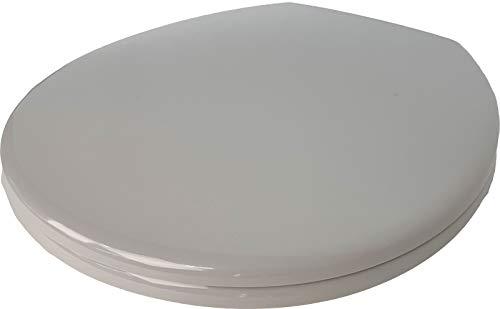 WC-Sitz Pagette Rondo Deckel mit Absenkautomatik Farbe MANHATTAN