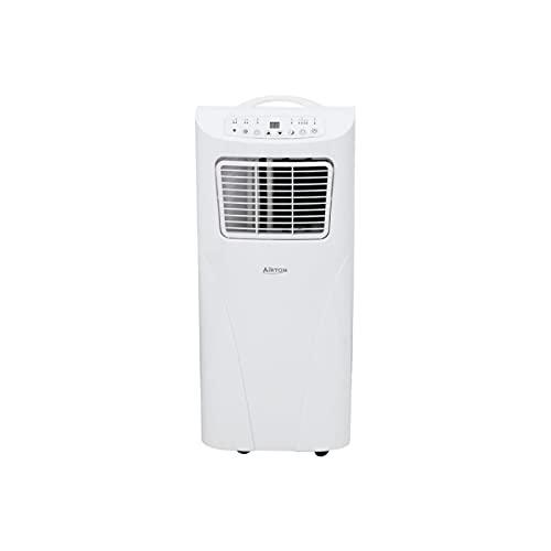 Airton – Condizionatore portatile reversibile 2000 W/1700 W 7000BTU freddo e caldo e deumidificatore – adatto per una superficie di 20 m2 [classe energetica A]