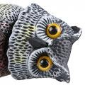Gran señuelo de búho extremadamente realista con la cabeza giratoria Bird-good toy -a good friends