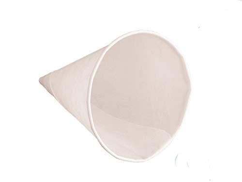5000 Papierbecher Spitzbecher Wasserbecher Water Cones Paper Cones weiß 133ml 4,5oz Ø75mm für Wasserspender - inkl. Verpackungslizenz in D