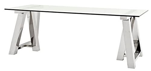 Casa Padrino Luxus Esstisch 220 x 90 x H. 78 cm - Designer Esszimmermöbel