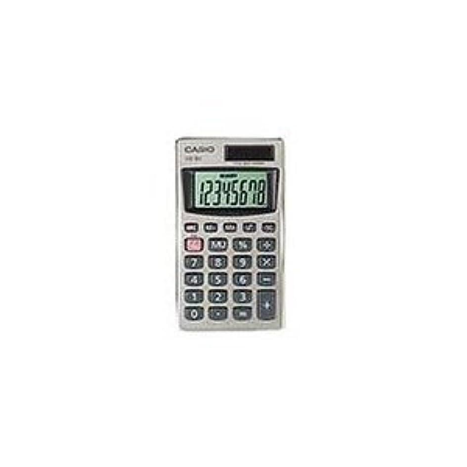 茎家庭教師対応Casio hs-8?V携帯型ソーラー電卓