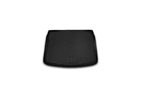 Element EXP.CARNIS00046 Passgenaue Premium Antirutsch Gummi Kofferraumwanne - Nissan Qashqai - Jahr: 14-20, schwarz, Passform