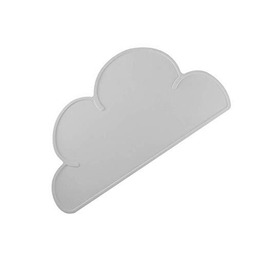 Salvamanteles de silicona con forma de nube, impermeables, con ventosa, para cocina, mesa de comedor, decoración del hogar