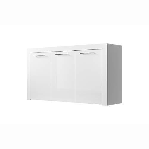 muebles bonitos Aparador Modelo Nelia Color Blanco