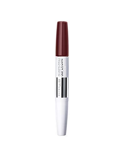 Maybelline Superstay 24H Lippenstift Nr. 760 Pink Spice, farbintensiver, flüssiger Lippenstift mit bis zu 24 Stunden Halt, patentierte Micro-Flex-Formel, mit integriertem Pflegebalsam, 5 g