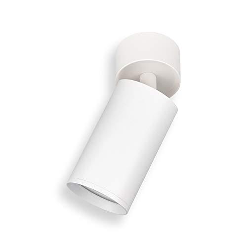 POPP® Aplique de superficie Orientable GU10 Incluido casquillo GU10 Max. 50W Blanco...