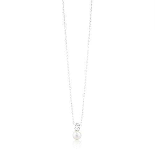 Collar TOUS Sweet Dolls en plata de primera ley y perlas cultivadas de 0,8 cm