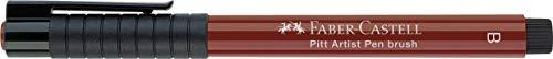Faber-Castell 167499 - Tuschestift Pitt artist pen brush, Strichstärke B, Farbe 199, schwarz