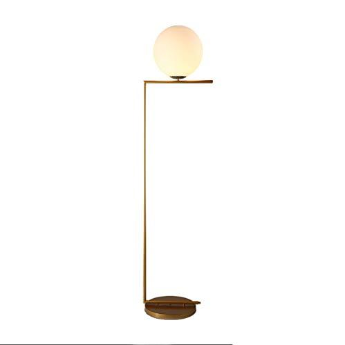 Lámpara de pie Lámpara De Pie, Lámpara De Pie Redonda, Lámpara De Pie Decorativa LED, Sala De Estar Dormitorio De Estudio