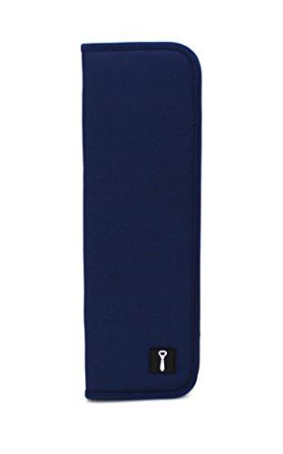 Cravatta blu scuro antracite per max. 6cravatte per conservare