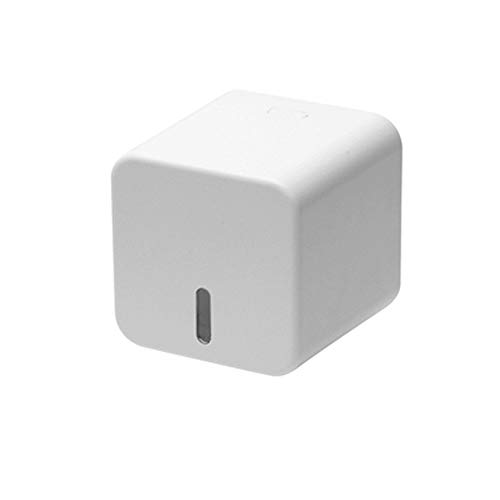 FEIHAIYANY zjh - Caja de pañuelos para pañuelos (montaje en pared, caja de pañuelos impermeable creativa (color: blanco, tamaño: 16,2 x 14,4 x 14,4 x 14,4 cm, 13 x 18 x 13 cm) (tamaño pequeño)