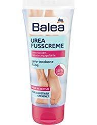 Balea Foot Cream Urea, 100 ml (pack of 2) - German product