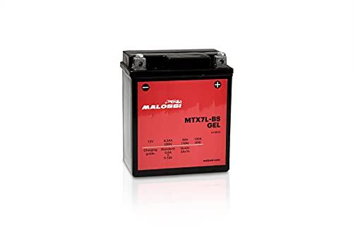 Batería de gel activada precargada, lista para usar Malossi MTX7L 12 V 6 Ah SH 125 150 2000 2001 2002 2003 2004 2005 2006 2007 2008 2009 2010 20101011010101010 201010 .