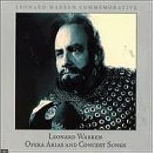 Leonard Warren: Opera Arias & Concert Songs