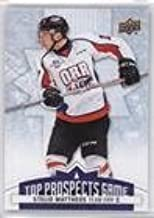 Stelio Mattheos (Hockey Card) 2017-18 Upper Deck CHL - Top Prospects Game #TP18