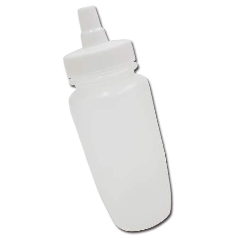 爆発気分が良いボンドはちみつ容器180ml(ホワイトキャップ)│業務用ローションや調味料の小分けに詰め替え用ハチミツ容器(蜂蜜容器)はちみつボトル