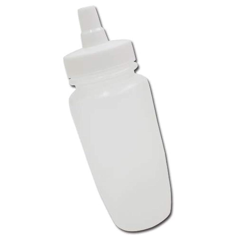 顔料そうでなければ思慮のないはちみつ容器180ml(ホワイトキャップ)│業務用ローションや調味料の小分けに詰め替え用ハチミツ容器(蜂蜜容器)はちみつボトル
