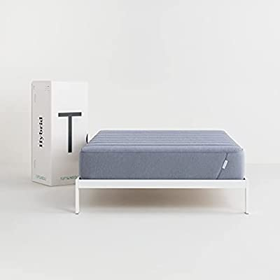 Tuft & Needle - Hybrid King Mattress with Adaptive Foam, Plush Pillow Top, Carbon Fiber-Infused