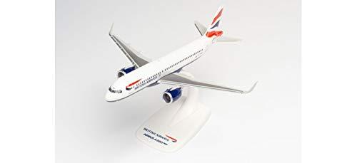 Herpa 612746 British Airways Airbus A320 neo – G-TTNA in miniatura per fai da te e da collezione, multicolore