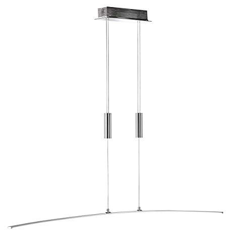 WOFI Pendelleuchte, 1-flammig FREYA 1 x LED / 21 W, 8 x 150 x 120 cm, 3000 k, 1600 lm, Energieeffize