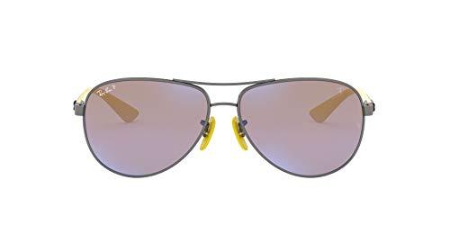 Ray-Ban 0RB8313M Gafas de sol, Matte Gunmetal, 40 para Hombre