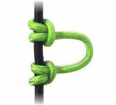 Superloop 5 Feet Cir-Cut Archery Bowstring Release D NOCKING Loop - .093' 2.4mm (Multi Colors) (NEON Green)