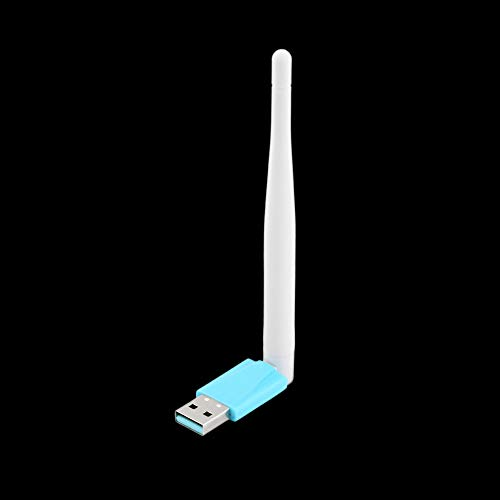 Amerryllis Mini Ralink PC WiFi Aapter 300Mbps USB WiFi Antena Tarjeta de Red inalámbrica para computadora 802.11n / g/b LAN + Antena