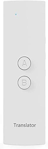 Speech Sprachübersetzungsgerät, Echtzeit-Zweiweg-Sprachübersetzungs Mobiles Gerät Übersetzung Gadget Übersetzer (Farbe: Schwarz) kyman (Color : White)