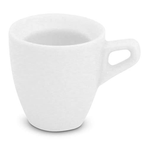 Walküre Porzellan Espressotasse 0,08l Rossi Weiß