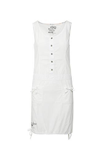 SOCCX Damen Sommerkleid aus Popeline