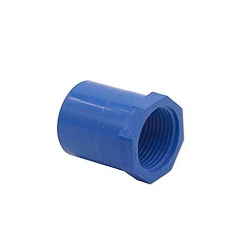 PPLAW Adaptador de reparación Masculino/Hembra Hilo a diámetro Interior 20/25 / 32 mm de riego de jardín Agitura de Agua (Color : Blue Female, Size : 1 Inch to 32mm)