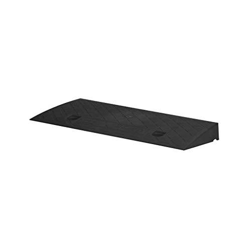 Rolstoel Curb Ramps, kleine draagbare drempel hellingen schroeven duurzaam driehoekig pad outdoor step-mat anti-slip worden opgelost