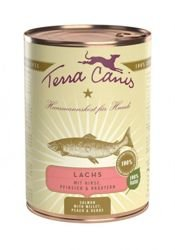 Terra Canis Dog Classic Lachs | 12x 400g Dose Hundenassfutter