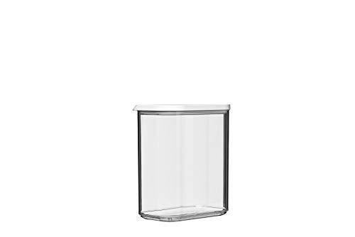 Mepal vorratsdose modula 1500 ml, Plastik, Weiß, 14.4 x 9 x 16.8 cm