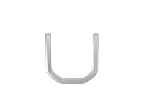 Accessoire intérieur de véhicule Automobile, pour Sport 2014-2017 Velar 2017, Paillettes de Volant Garniture Cache ABS Plastique chromé Argent, 1 pcs/Set