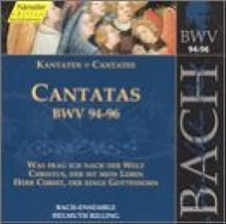Sacred Cantatas BWV 94-96
