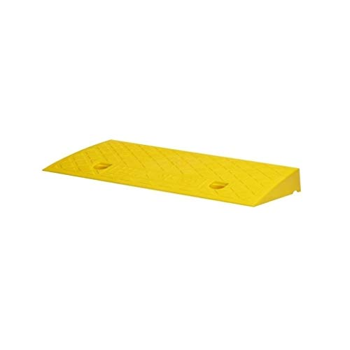 Fietsvelgen, kunststof anti-slip driehoek Pad Baby Vervoer Scooter Kerb Ramps Multifunctionele Service Ramps Grootte: 49 * 22 * 5CM