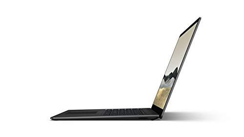 Microsoft Surface Laptop 3, 15 Zoll Laptop (AMD Ryzen 5 3580U, 8GB RAM, 256GB SSD, Win 10 Home) Schwarz