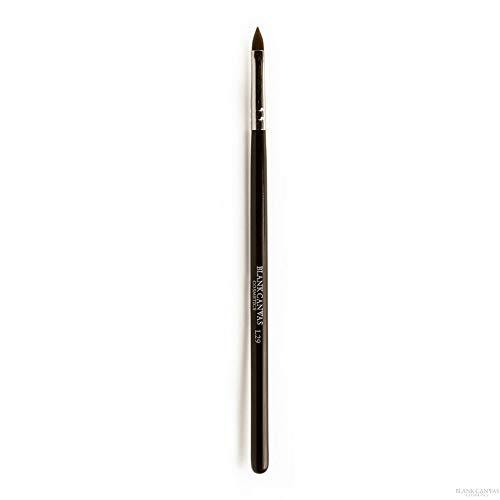 Blank Canvas L29 multifunctionele kwast voor lippen, vleugels, eyeliner, zilver/zwart, 1 stuk