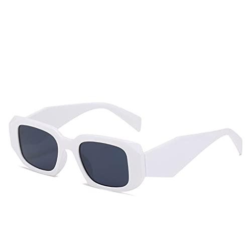 Shubiao Gafas de sol con marco irregular, estilo retro, duradero, no fácil de romper, antideslizante, adecuado para mujeres y hombres de conducción