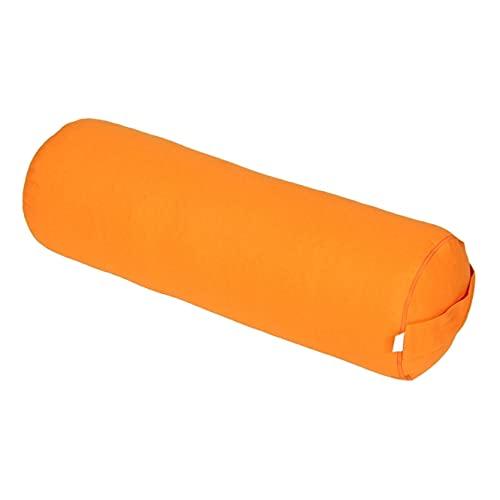 Yoga und Pilates Bolster/Yogarolle Basic, orange