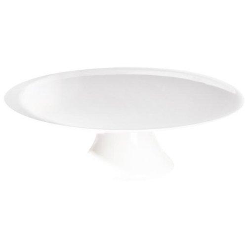 ASA Grande Tortenplatte, Keramik, weiß glänzend, 22.5x22.5x8 cm