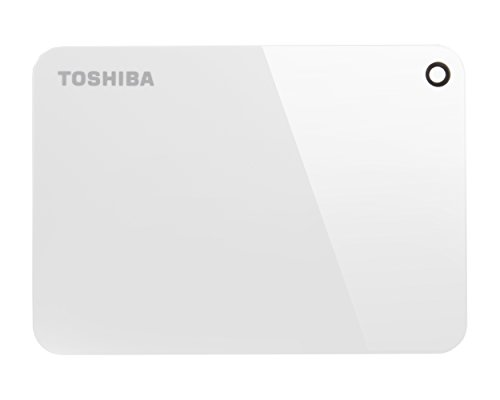 Toshiba Canvio Advance - Disco Duro Externo (1000 GB, 2.5', 3.0 (3.1 Gen 1), Blanco)