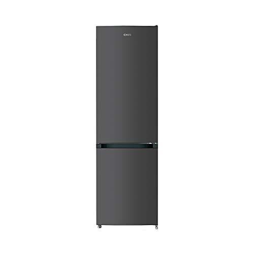 CHiQ Freistehender Kühlschrank mit Gefrierfach 180cm | Kühl-Gefrierkombination No frost | 180 x 54,5 x 57,6 cm (HxBxT) | 250L | Ultraleise 41 db | 12 Jahre Garantie auf den Kompressor*